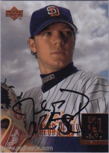 Jake Peavy 2001 Upper Deck Prospect Premieres #61