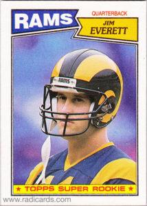 Jim Everett 1987 Topps #145