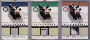 Frank Thomas 2003 Fleer Patchworks Game-Worn Patch