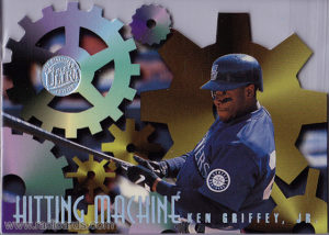 Ken Griffey Jr. 1996 Ultra Hitting Machines #4 Gold Medallion