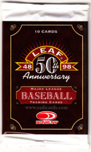 1998 Leaf Baseball Pack