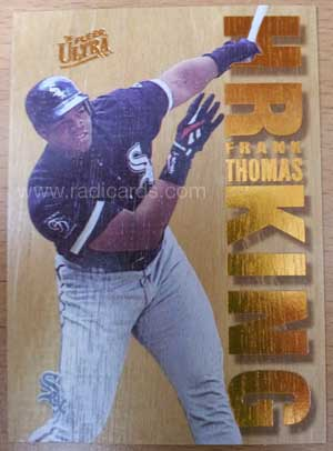 Frank Thomas 1996 Ultra Home Run Kings #10 Redemption