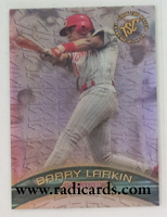 Barry Larkin 1996 Stadium Club Extreme Winners Silver #EW6