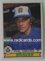 Phil Niekro 1979 O-Pee-Chee #313
