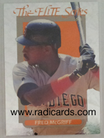 Fred McGriff 1993 Donruss Elite #19 /10,000