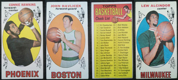 1969-70 Topps Basketball Cards