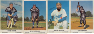 1961 Dodgers Bell Brand Baseball Cards