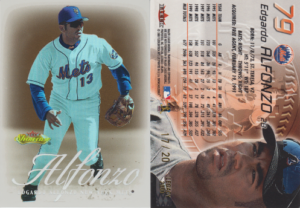 Edgardo Alfonzo 2000 Fleer Showcase #79 Legacy Collection /20