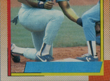 Frank Thomas 1990 Topps 414a Nnof Statistical Breakdown