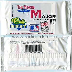 1991 Classic Best Baseball Pack
