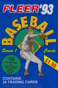 1993 Fleer Baseball Series 1 Jumbo Pack