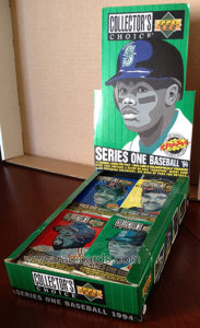 1994 Collector's Choice Baseball Box