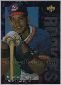 Manny Ramirez 1994 Upper Deck #23 Electric Diamond