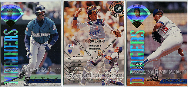 1995 Leaf Baseball Cards