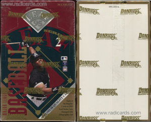 1995 Leaf Series 2 Baseball Box