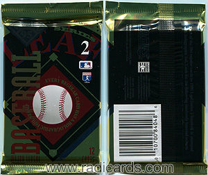 1995 Leaf Series 2 Baseball Pack