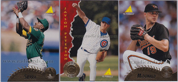 1995 Pinnacle Baseball Cards