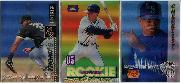 1995 Sportflix Baseball Cards