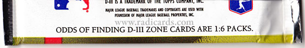 1995 Topps D3 Baseball Series 1 odds