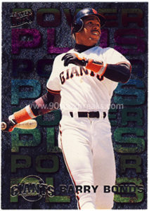 Barry Bonds 1995 Ultra Power Plus #5