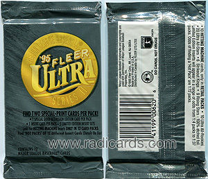 1995 Ultra Series 2 Baseball Pack