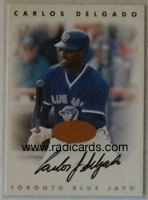 Carlos Delgado 1996 Leaf Signature Autographs #57 Bronze /3500
