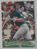 Mark McGwire 1996 Stadium Club #104 Extreme Players Silver