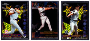 1996 Topps Chrome Baseball Cards