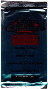 1996 Topps Chrome Baseball Pack