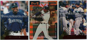 1997 Donruss Team Sets Baseball Mariners inserts