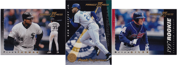 1997 Pinnacle X-Press Baseball base