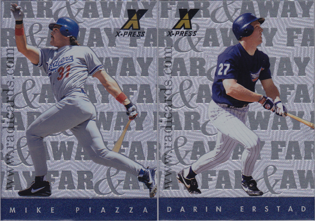 1997 Pinnacle X-Press Baseball Far & Away