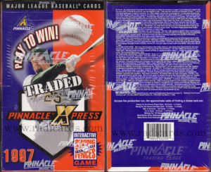 1997 Pinnacle X-Press Baseball Box