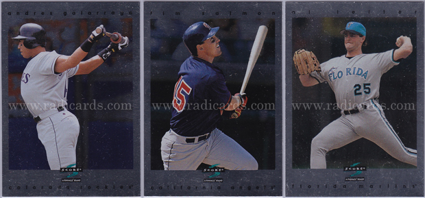 1997 Score Baseball Showcase Series