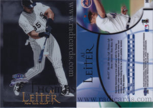Frank Thomas 1999 Fleer Brilliants #27 Error