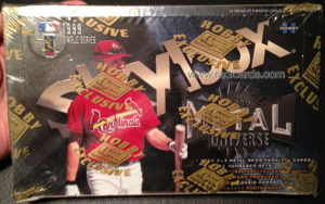 1999 Metal Universe Baseball Box