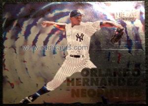 Orlando Hernandez 1999 Metal Universe Neophytes #8