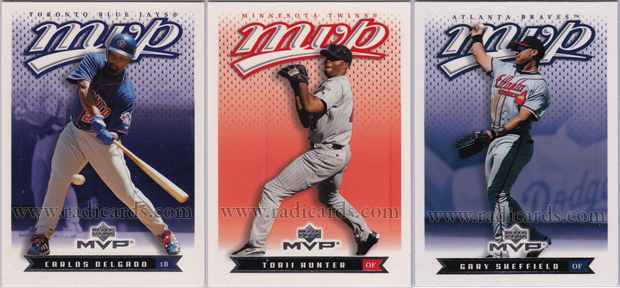 2003 Upper Deck MVP Baseball Cards