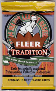 2004 Fleer Tradition Hobby Pack