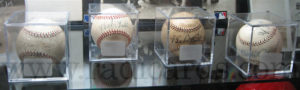 Baseballs signed by Babe Ruth