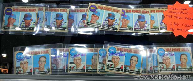 1968 Topps Nolan Ryan & Johnny Bench