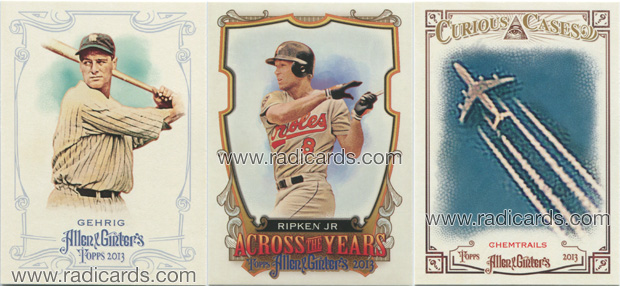 2013 Topps Allen & Ginter Baseball base