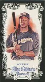 2013 Topps Allen & Ginter Baseball mini