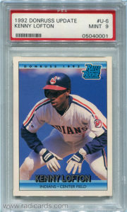 Kenny Lofton 1992 Donruss Update #U-6