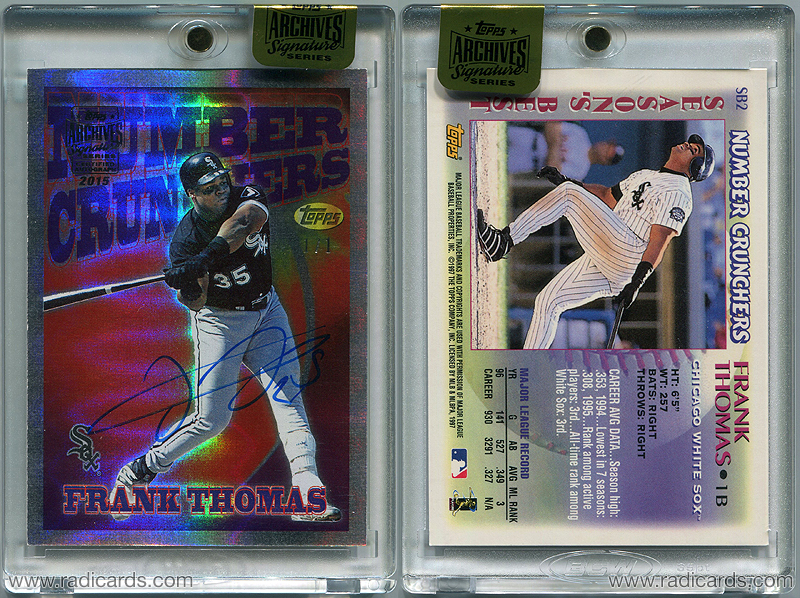 2015 Topps Archive Signature Series