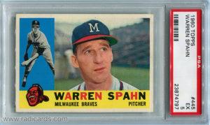 Warren Spahn 1960 Topps #445