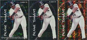 1997 Fleer Soaring Stars Variation Comparison