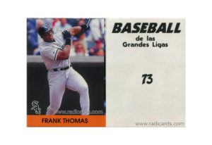 Frank Thomas 2000 Venezuelan Stickers #73