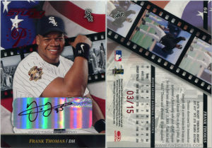 Frank Thomas 2002 Studio #64 Private Signings /15