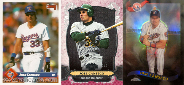 Jose Canseco lot 2